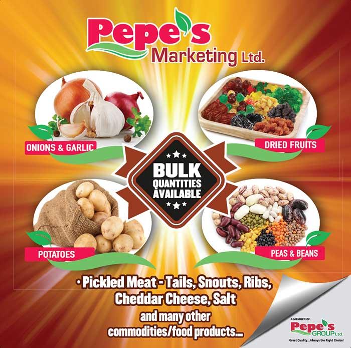 Pepe's Bulk – Pepe's Marketing Ltd